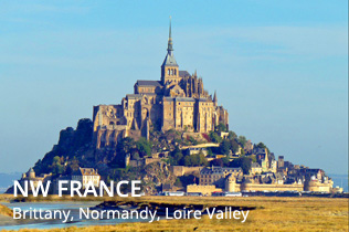 Northwest France - Brittany, Normandy, Loire Valley