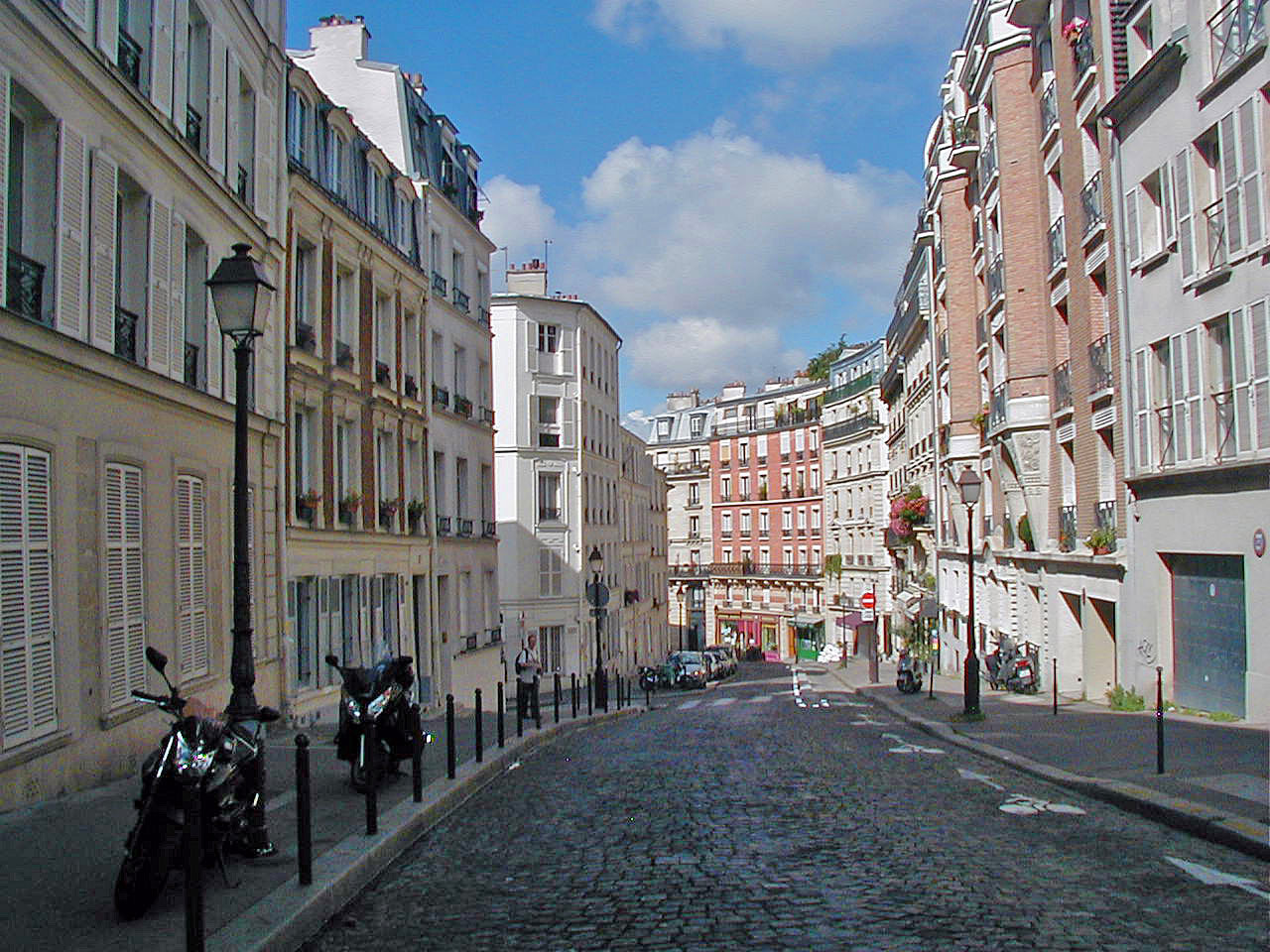 Rue Lepic Right Bank Paris Rental Apartment Montmartre