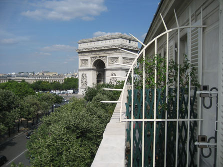 Right Bank Paris France Vacation Rentals Place De L Etoile