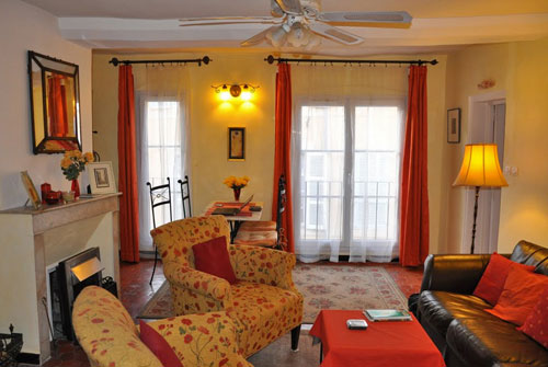 Aix Mirabeau Apartment Provence Vacation Rental Living Room